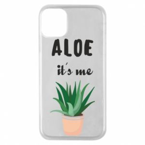 Phone case for iPhone 11 Pro Aloe it's me