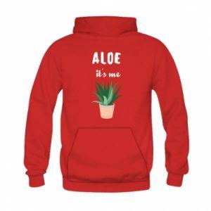 Bluza z kapturem dziecięca Aloe it's me