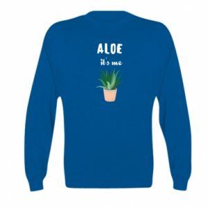 Bluza dziecięca Aloe it's me