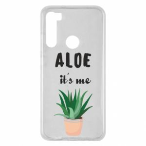 Etui na Xiaomi Redmi Note 8 Aloe it's me