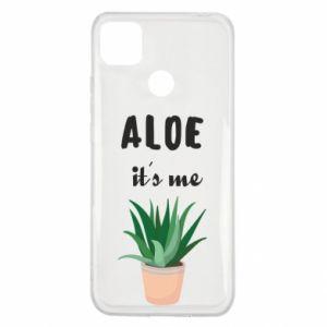 Etui na Xiaomi Redmi 9c Aloe it's me