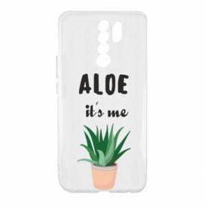Etui na Xiaomi Redmi 9 Aloe it's me