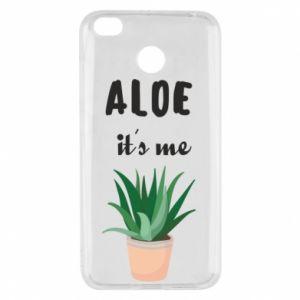 Etui na Xiaomi Redmi 4X Aloe it's me