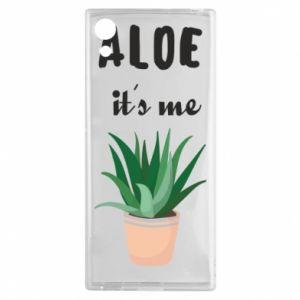 Etui na Sony Xperia XA1 Aloe it's me