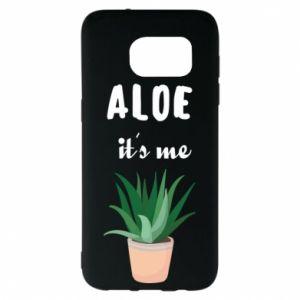 Etui na Samsung S7 EDGE Aloe it's me