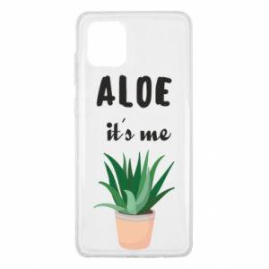 Etui na Samsung Note 10 Lite Aloe it's me