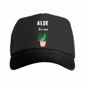 Trucker hat Aloe it's me
