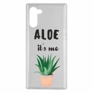 Etui na Samsung Note 10 Aloe it's me
