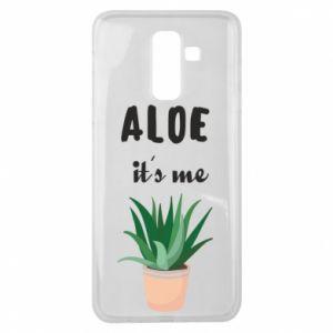 Etui na Samsung J8 2018 Aloe it's me