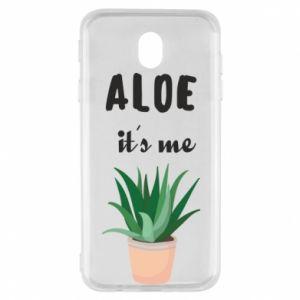 Etui na Samsung J7 2017 Aloe it's me