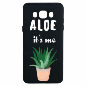 Etui na Samsung J7 2016 Aloe it's me