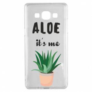 Etui na Samsung A5 2015 Aloe it's me