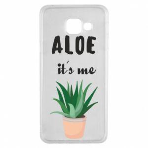 Etui na Samsung A3 2016 Aloe it's me
