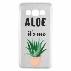 Etui na Samsung A3 2015 Aloe it's me