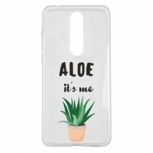 Etui na Nokia 5.1 Plus Aloe it's me