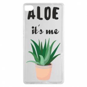 Etui na Huawei P8 Aloe it's me