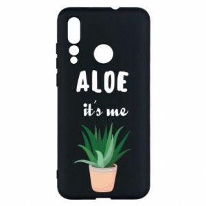 Etui na Huawei Nova 4 Aloe it's me