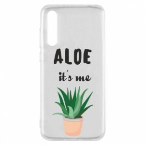 Etui na Huawei P20 Pro Aloe it's me