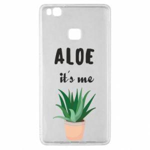 Etui na Huawei P9 Lite Aloe it's me