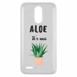 Etui na Lg K10 2017 Aloe it's me