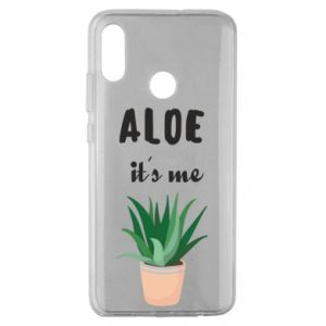 Etui na Huawei Honor 10 Lite Aloe it's me