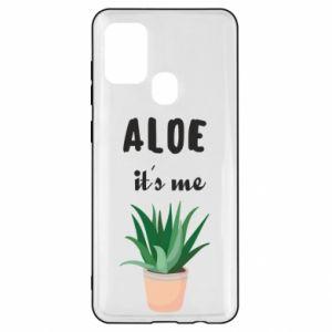 Etui na Samsung A21s Aloe it's me