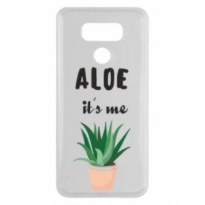 Etui na LG G6 Aloe it's me