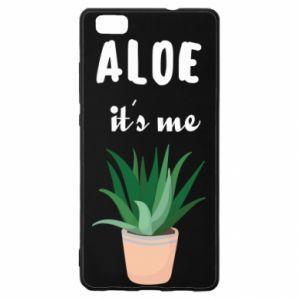Etui na Huawei P 8 Lite Aloe it's me