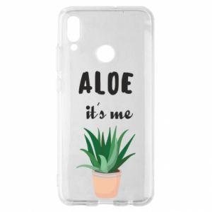 Etui na Huawei P Smart 2019 Aloe it's me