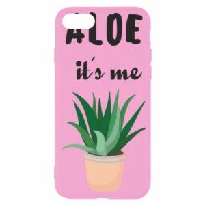 Etui na iPhone SE 2020 Aloe it's me