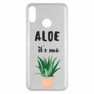 Etui na Huawei Y9 2019 Aloe it's me