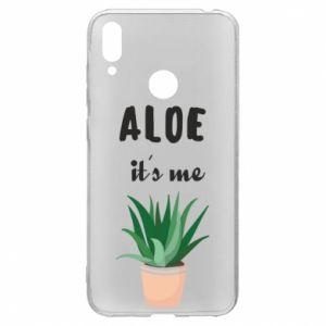 Etui na Huawei Y7 2019 Aloe it's me