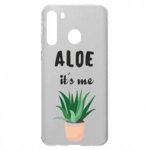 Etui na Samsung A21 Aloe it's me