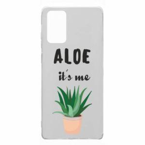 Etui na Samsung Note 20 Aloe it's me