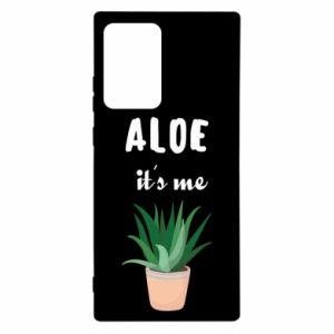Etui na Samsung Note 20 Ultra Aloe it's me