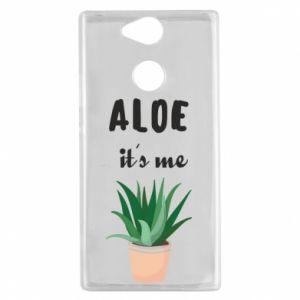 Etui na Sony Xperia XA2 Aloe it's me