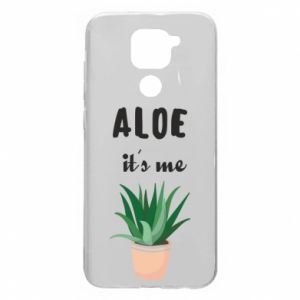 Etui na Xiaomi Redmi Note 9/Redmi 10X Aloe it's me