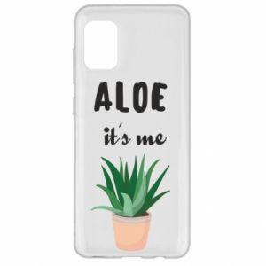 Etui na Samsung A31 Aloe it's me