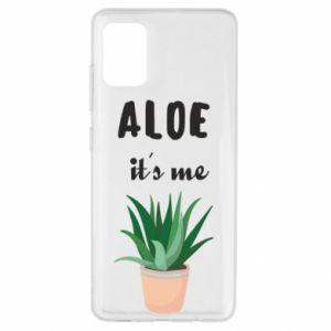 Etui na Samsung A51 Aloe it's me