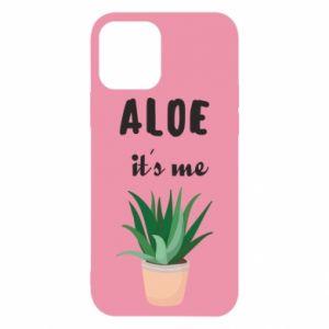 Etui na iPhone 12/12 Pro Aloe it's me