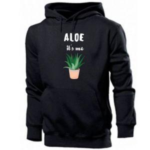 Men's hoodie Aloe it's me
