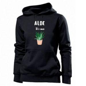 Women's hoodies Aloe it's me