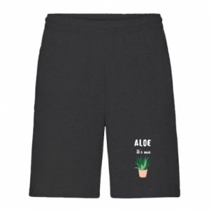 Men's shorts Aloe it's me
