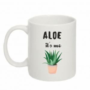 Kubek 330ml Aloe it's me