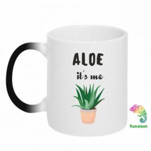 Kubek-magiczny Aloe it's me