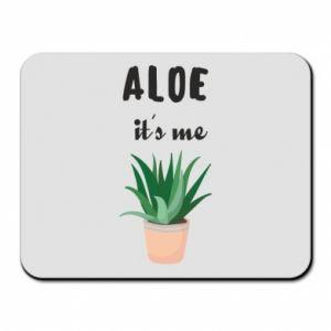 Mouse pad Aloe it's me