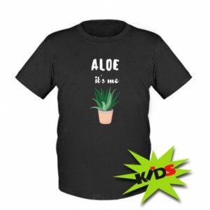 Kids T-shirt Aloe it's me
