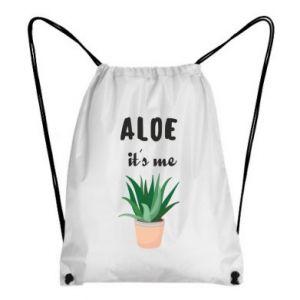 Backpack-bag Aloe it's me