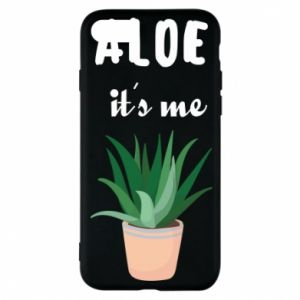 Phone case for iPhone 8 Aloe it's me