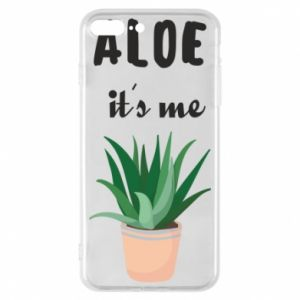 Phone case for iPhone 8 Plus Aloe it's me